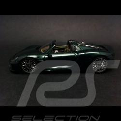 Porsche 918 Spyder 2014 vert 1/43 Spark S4243