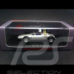 Porsche 804 avec pilote Bonnier test 1962 1/43 Spark S3460