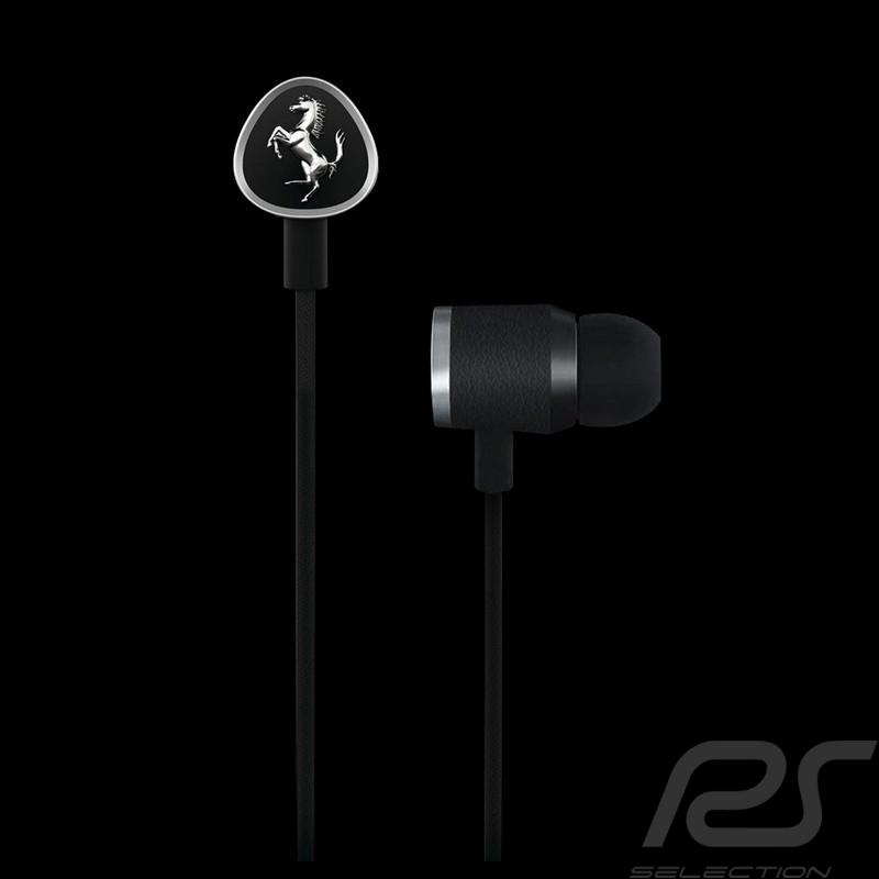Earphones Ferrari by Logic3 G150i black 1LFE012K