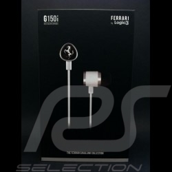 Earphones Ferrari by Logic3 G150i white 1LFE012W