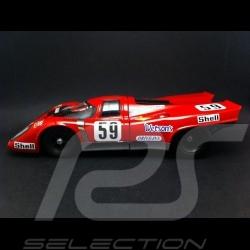 Porsche 917 K Piper Magny Cours 1970 n° 59 1/18 Norev 187580J