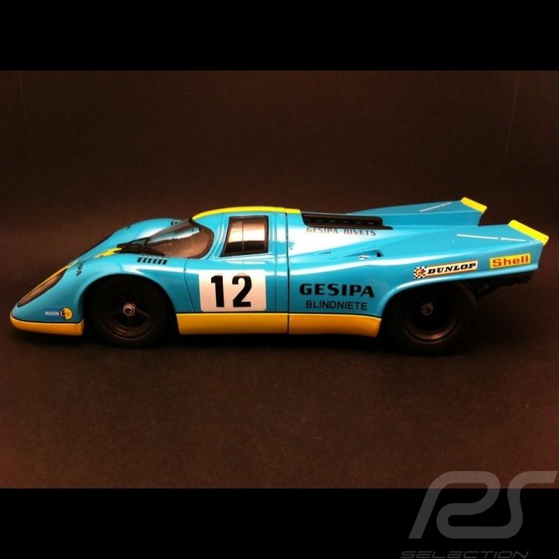 Porsche 917 K Nürburgring 1971 n° 12 1/18 Norev 187580K