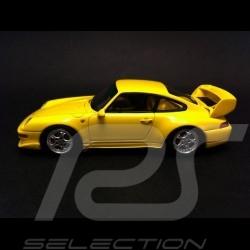 Porsche 911 993 RS Club Sport 1995 jaune 1/43 Spark S4194