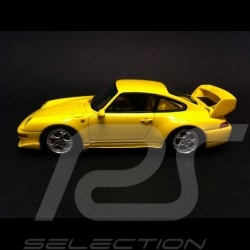 Porsche 911 type 993 RS Club Sport 1995 Speed yellow 1/43 Spark S4194