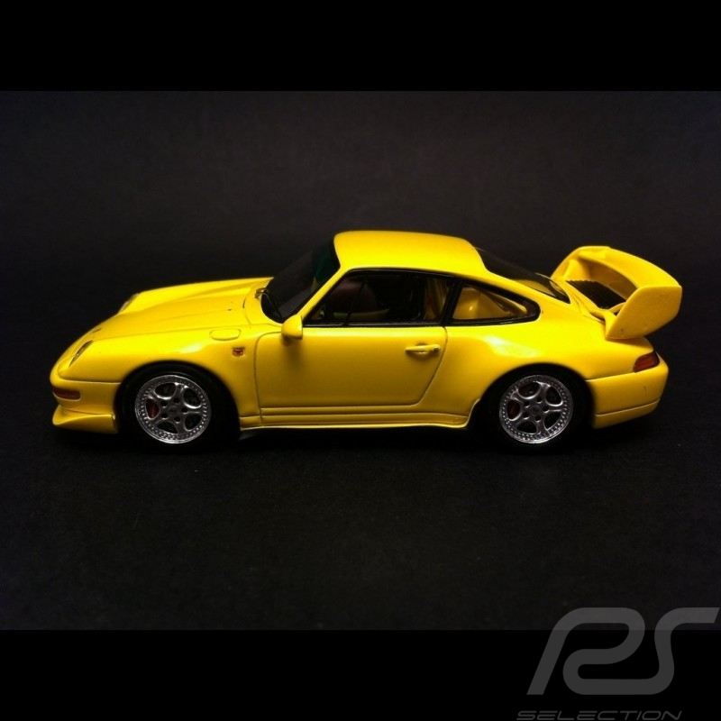 Porsche 911 type 993 RS Club Sport 1995 Speedgelb 1/43 Spark S4194