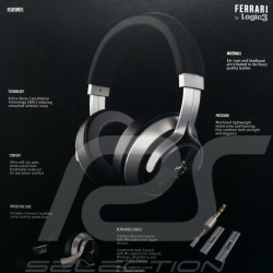Ferrari by Logic3 T350 Casque Headphones Kopfhörer 1LFH009K