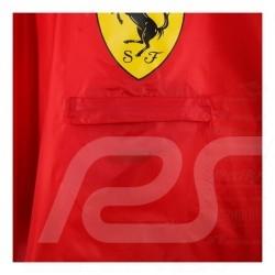Poncho Regenjacke Ferrari rot
