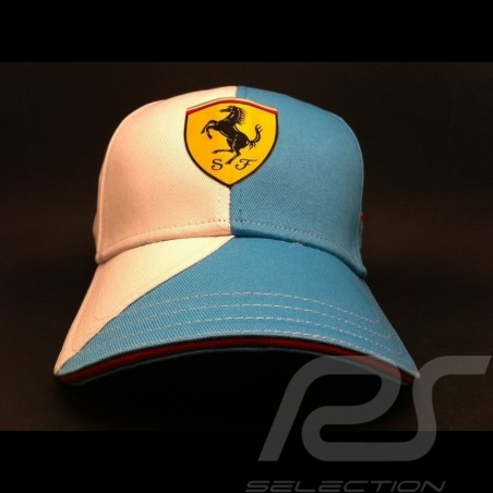 Cap Ferrari blau