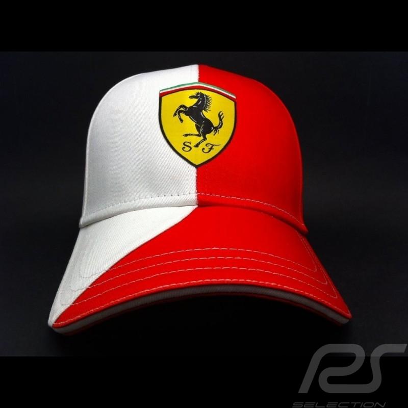 Cap Ferrari Alonso red