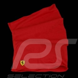 Scarf neck & head Ferrari red