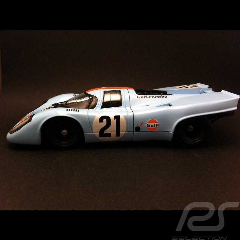 Porsche 917 K Le Mans 1970 Gulf n° 21 1/18 Norev 187580M