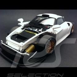 93100150 Autoart 18 Porsche 911 GT1 blanche 1997 ref 89771