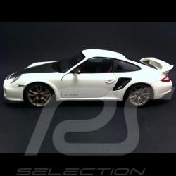 Porsche 911 997 GT2 RS 2011 blanche 1/18 Minichamps 100069400