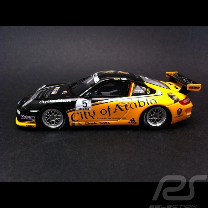 Porsche 997 GT3 Cup Supercup 2008 n° 5 1/43 Spark SAM027