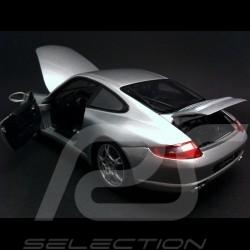 Porsche 997 Carrera S Coupé 2005 - 2009 grau 1/18 Welly 18004