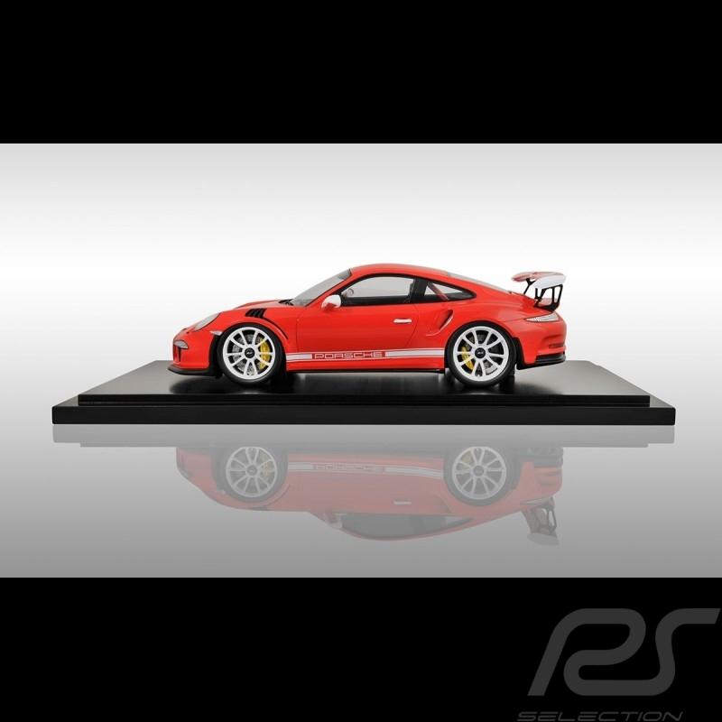 Porsche 991 GT3 RS lava orange 1/18 Spark WAX02100012