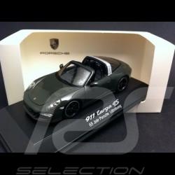"""Porsche 991 Targa 4 S """" 65 jahre Porsche Luxembourg """" 2015 grau 1/43 Spark WAX02020008"""