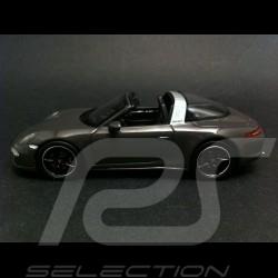 "Porsche 911 991 Targa 4 S "" Edition France "" 2015 gris 1/43 Spark WAX02020010"