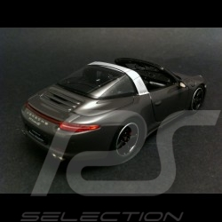 "Porsche 991 Targa 4 S "" France Edition "" 2015 grey 1/43 Spark WAX02020010"