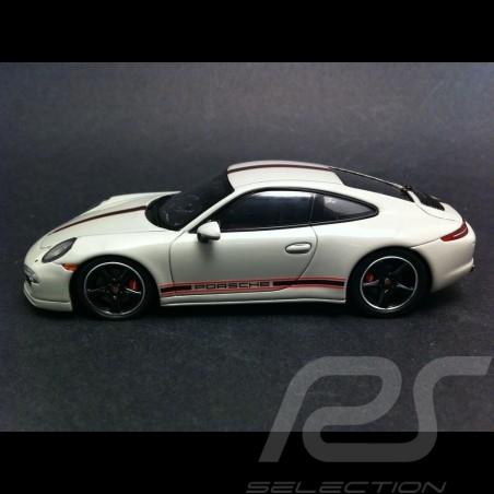 """Porsche 991 Targa 4 S """" 30 jahre Porsche Italien """" 2015 blau 1/43 Spark WAX02020011"""