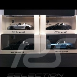 "Porsche 991 Targa 4 S "" Grossbritannien Mayfair "" 2015 grau 1/43 Spark WAX02020007"