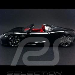 Porsche 918 Spyder 2013 noire 1/18 Minichamps 110062431