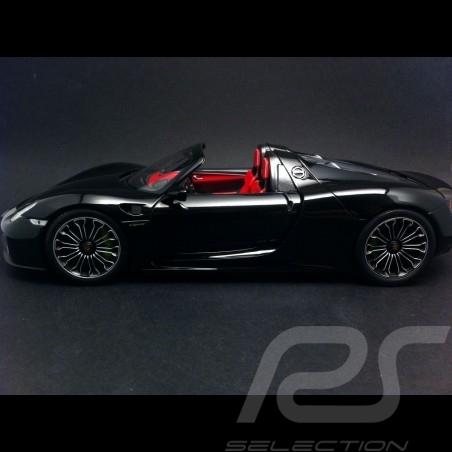 Porsche 918 Spyder 2013 schwarz 1/18 Minichamps 110062431