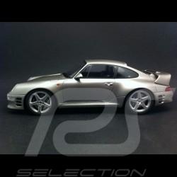 Porsche 911 993 RUF CTR2 1997 grise 1/18 GT SPIRIT GT080