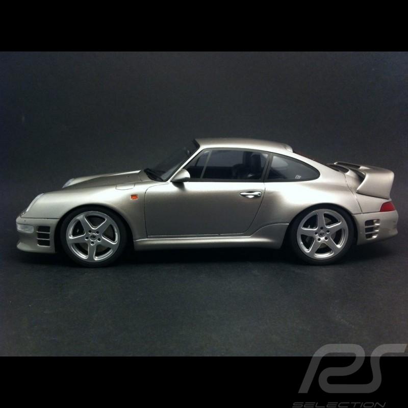 Porsche 911 type 993 RUF CTR2 1997 grey 1/18 GT SPIRIT GT080