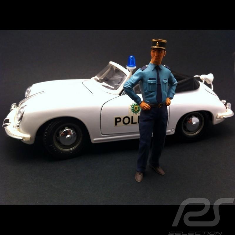French Policeman 1/18 diorama model AE180004