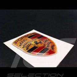 Wappen-Aufkleber 3D Porsche 5,5 x 4.2 cm