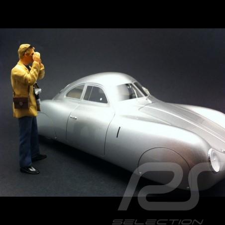 Mechaniker blau 1/18 Diorama modell AE180114