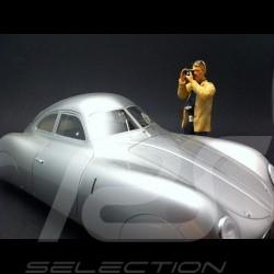 Photographe reporter 1/18 Figurine diorama AE180090