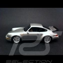 Porsche 911 964 Turbo 3.6 1993 gris 1/43 Spark S4475
