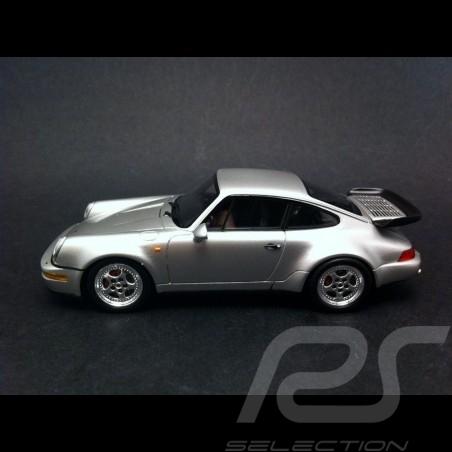 Porsche 911 type 964 Turbo 3.6 1993 grau 1/43 Spark S4475