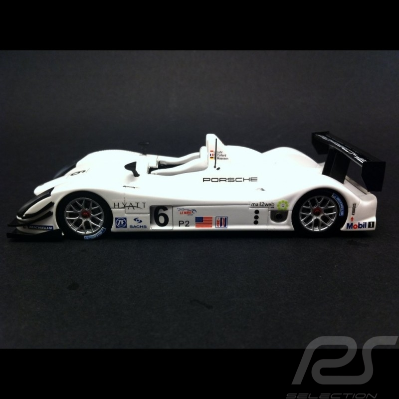 Porsche RS Spyder LMS Barcelona 2005 n° 6 Porsche Platz August 2015 1/43 Spark MAP02020815