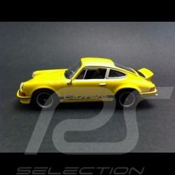 Porsche 911 Carrera RS 1973 jaune 1/43 Welly MAP01997414