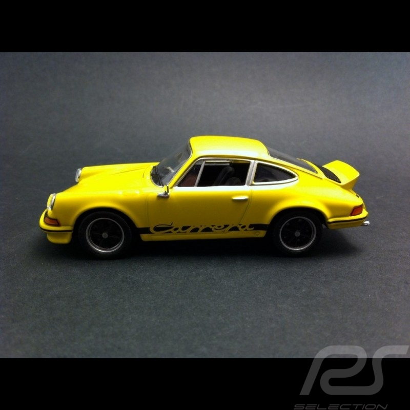 Porsche 911 Carrera RS 1973 jaune 1/43 Welly MAP01997414
