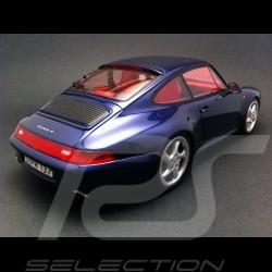 Porsche 993 Carrera 4S bleu 1/18 GT Spirit GT012B