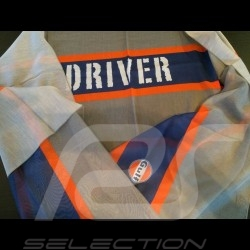 Schal Gulf Driver grau
