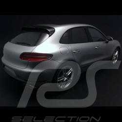 Porsche Macan Turbo gris 1/18 Spark 18S171