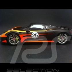 Porsche 918 Spyder Pack Weissach noire/orange 1/18 Spark 18S170