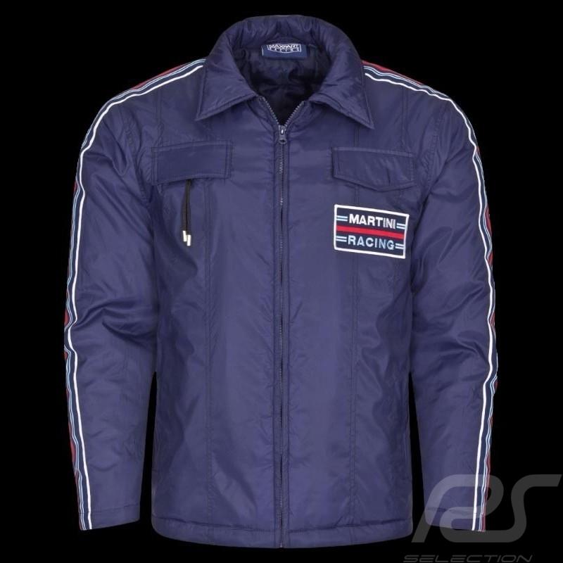 Veste homme Martini Racing Team bleu marine Men jacket Herren Jacke