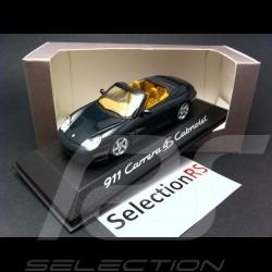 Porsche 996 Carrera 4S Cabriolet vert 1/43 Minichamps WAP02009914