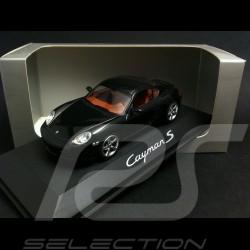 Porsche Cayman S 2006 schwarz 1/43 Schuco WAP02030216