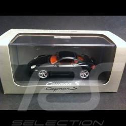 Porsche Cayman S 2006 black 1/43 Schuco WAP02030216