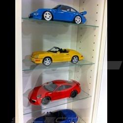 Vitrine murale pour 9 miniatures à l'échelle 1/18ème Stand for up to 10 Porsche in 1:18 Vitrine 10 Porsche Modelle in 1:18