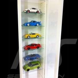 Vitrine für bis zu 10 Porsche Modelle in 1:18
