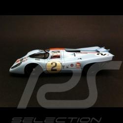 Porsche 917 K Gulf Vainqueur Daytona 1971 n° 2 1/43 Spark MAP02027114 winner sieger