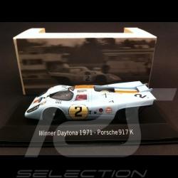 Porsche 917 K Gulf Daytona 1971 n° 2 1/43 Spark MAP02027114